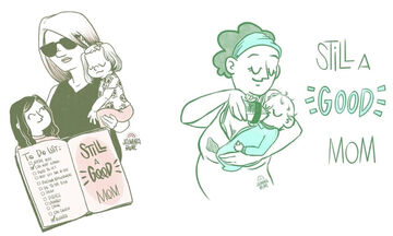 Τα ειλικρινή σκίτσα μίας μαμάς που θα σας κάνουν να ταυτιστείτε