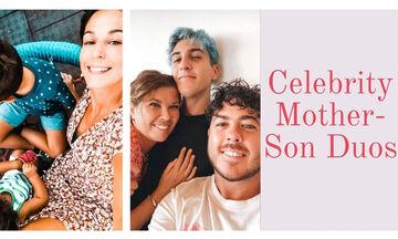11 διάσημες Ελληνίδες μαμάδες που έχουν μόνο γιους (pics)