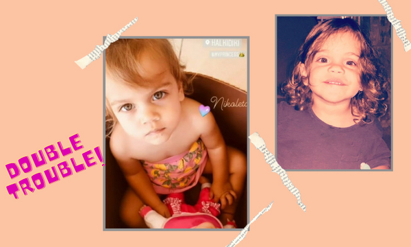 Αυτά τα δίδυμα κουκλιά έχουν διάσημους Έλληνες γονείς (pics)