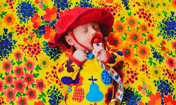 Οι απίθανες φωτογραφίες μίας μαμάς με το νεογέννητο μωρό της (pics)