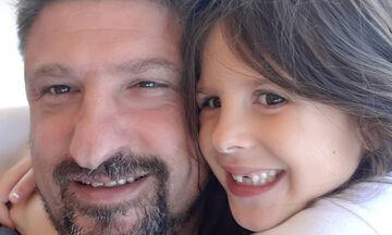 Νίκος Χαρδαλιάς: Η μικρή του κόρη πήγε σχολείο και δημοσίευσε αυτή τη φώτο