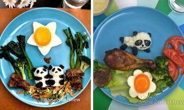 Μαμά φτιάχνει πρωινό με αυγά στα παιδιά της και είναι φανταστικό (pics)