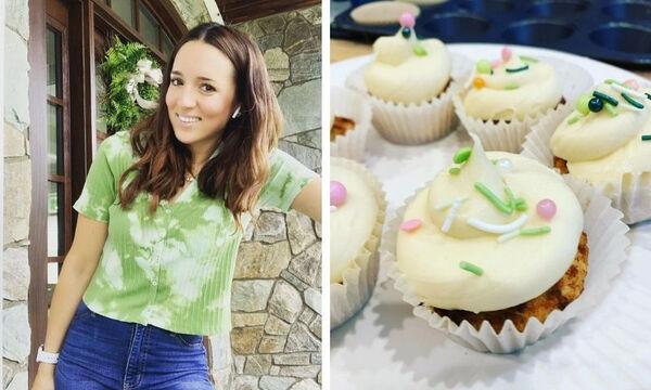 Καλομοίρα: Η συνταγή της για cupcakes βανίλια με frosting είναι φανταστική