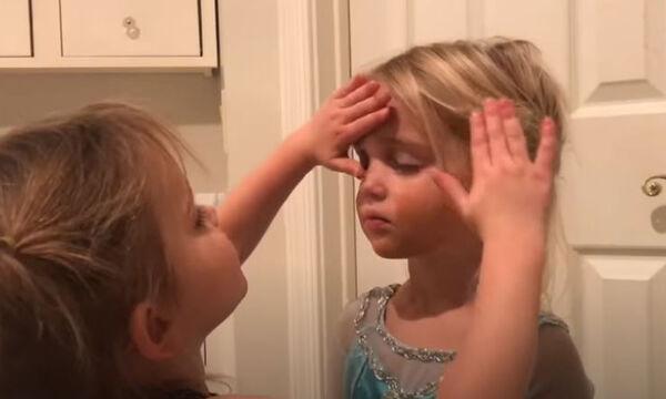 Τρίχρονο κοριτσάκι κάνει make up tutorial και γίνεται viral