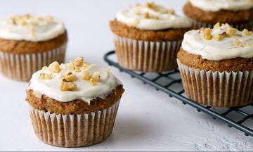Γλυκά muffins καρότου - Το τέλειο σνακ για το σχολείο