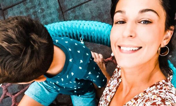 Κατερίνα Παπουτσάκη: Η τρυφερή στιγμή των γιων της στο γήπεδο