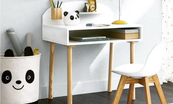 Μικρά γραφεία για το παιδικό δωμάτιο - Πάρτε ιδέες (pics)