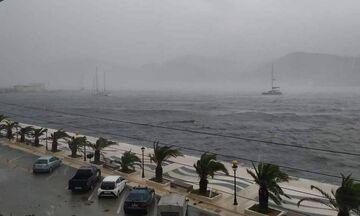 Κακοκαιρία «Ιανός»: 186 χιλιοστά βροχής μέσα σε 32 ώρες έπεσαν στο Ιόνιο (ΧΑΡΤΕΣ)