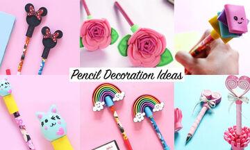 DIY μολύβια και στυλό που θα κάνουν το παιδί σας να αγαπήσει το διάβασμα