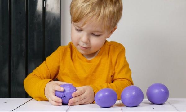 Αισθητηριακά παιχνίδια με μπαλόνια για παιδιά