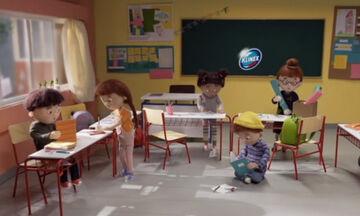 Στο σχολείο με την KLINEX: Καθαρή τάξη, υγιή παιδιά