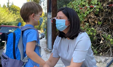 Νίκη Κεραμέως: Δείτε πού πήγε βόλτα με τον γιο της (pics)
