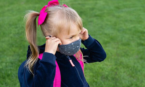 DIY κορδέλα και ασορτί μάσκα για ξεχωριστές εμφανίσεις στο σχολείο