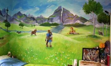 Ζωγράφισε το δωμάτιο των αδελφών της και το έκανε φανταστικό