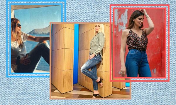 Πώς να φορέσεις το jean σου, όπως οι μαμάδες της showbiz