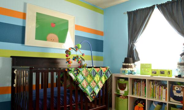 Ριγέ στο παιδικό δωμάτιο: Δείτε απίθανες ιδέες για αγόρια και κορίτσια