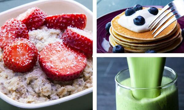 Επτά συνταγές για πρωινό που θα σε βοηθήσουν να χάσεις κιλά