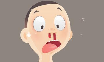 Ρινορραγία στα παιδιά - Γιατί συμβαίνει και τι πρέπει να κάνετε