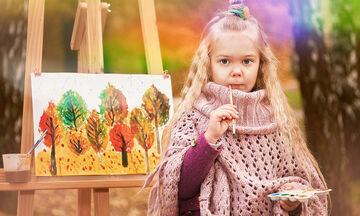 Ζωγραφίζουμε το φθινόπωρο - Υπέροχες χρωμοσελίδες για παιδιά