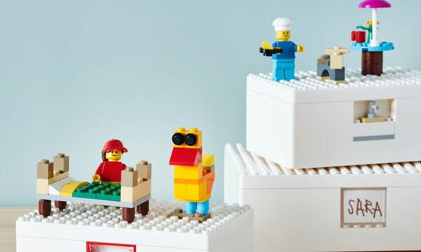 Η ΙΚΕΑ παρουσιάζει τη νέα σειρά BYGGLEK  σε συνεργασία με τη LEGO®