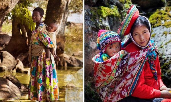 Η μητρότητα σε διαφορετικά μέρη του κόσμου μέσα από τον φωτογραφικό φακό