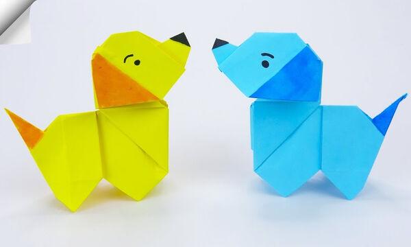 Χειροτεχνίες για παιδιά: Μαθαίνουμε να φτιάχνουμε ζωάκια origami