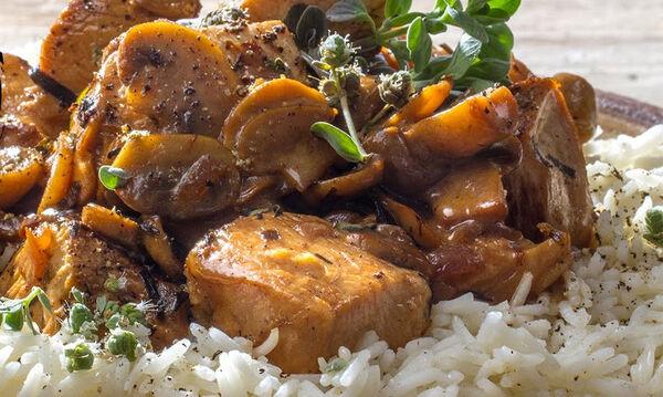 Κοτόπουλο αλά κρεμ από τον Άκη σε είκοσι μόλις λεπτά