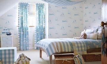Κουρτίνες για το παιδικό δωμάτιο: Ιδέες για σχέδια και χρώματα