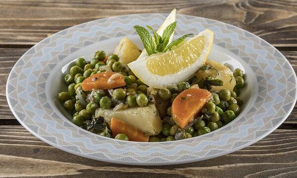 Αρακάς λεμονάτος: Η συνταγή του Άκη που αξίζει να δοκιμάσετε
