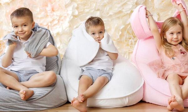 Αναπαυτικά πουφ για το παιδικό δωμάτιο - Τα παιδιά θα ενθουσιαστούν