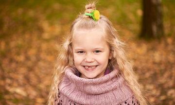 Πέντε λόγοι για τους οποίους τα παιδιά πρέπει να χαμογελούν περισσότερο