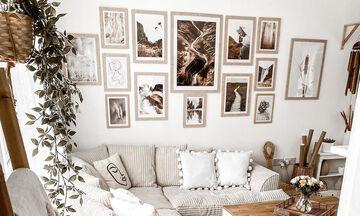 Έξυπνες ιδέες διακόσμησης που θα μεταμορφώσουν τους τοίχους του σπιτιού σας