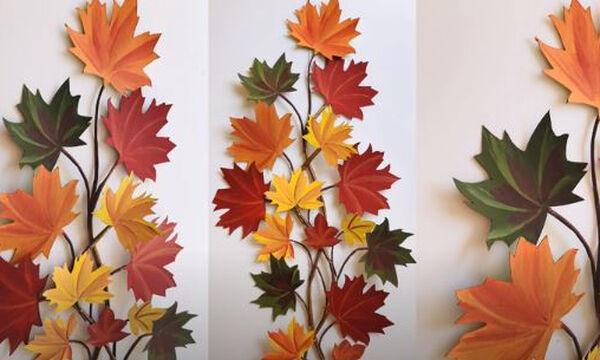 DIY - Φτιάξτε το τέλειο φθινοπωρινό διακοσμητικό για το σπίτι σας