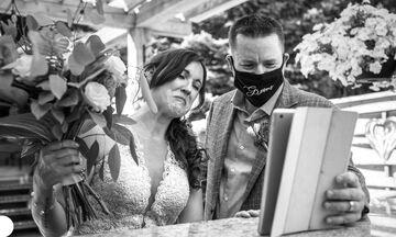 Γάμος στα χρόνια του κορονοϊού: 10 βραβευμένες φωτογραφίες απ'όλο τον κόσμο