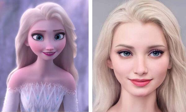 Πώς θα ήταν οι πριγκίπισσες της Disney εάν ζούσαν στον πραγματικό κόσμο;