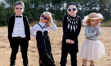 Μαμά ντύνει καθημερινά τα παιδιά της με στολές από αγαπημένες ταινίες