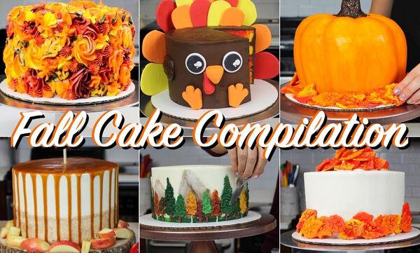 Εντυπωσιακές τούρτες για τα παιδιά που έχουν γενέθλια το φθινόπωρο