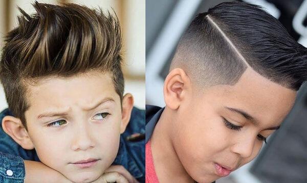 Μοντέρνα κουρέματα για αγόρια - Πάρτε ιδέες (vid)