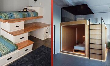 Εξοικονόμηση χώρου: Δείτε πώς να εκμεταλλευτείτε κάθε σημείο του σπιτιού