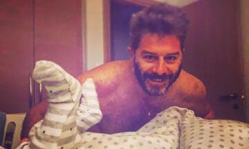Αλέξανδρος Μπουρδούμης:Ο γιος του έγινε τριών μηνών - H φώτο που δημοσίευσε