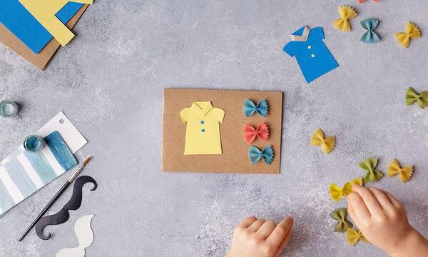 Πρωτότυπες χειροτεχνίες για παιδιά με ζυμαρικά (vid)