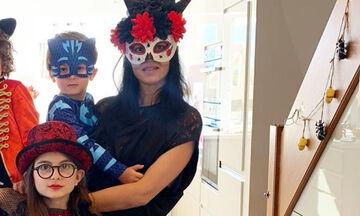 Ζενεβιέβ Μαζαρί: Φώτο από το πάρτι γενεθλίων του γιου της