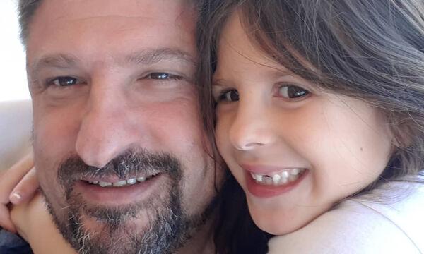 Νίκος Χαρδαλιάς: Η απίθανη φώτο με την κόρη του ανήμερα της γιορτής της