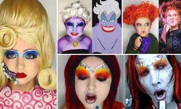 Μαμά μεταμορφώνει τις κόρες της μέσα από απίθανα facepainting που κάνει