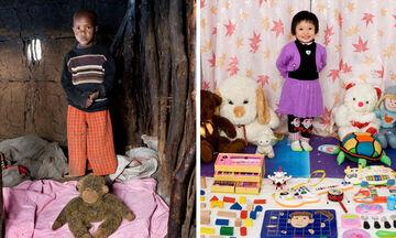 Παιδιά από όλον τον κόσμο φωτογραφίζονται με τα αγαπημένα τους παιχνίδια