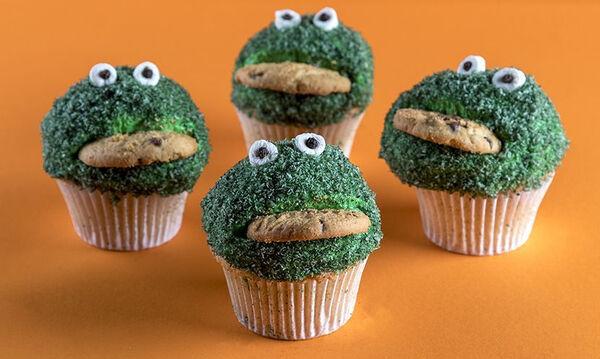 Γιορτάστε το Halloween με αυτά τα cupcakes τερατάκια