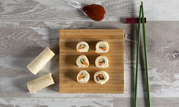 Τοστάκια αλά σούσι για τα παιδιά