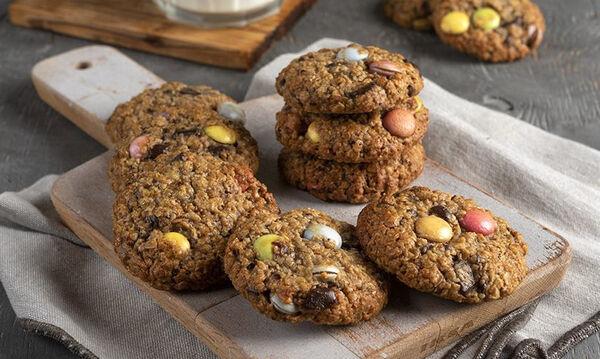 Παιδικά μπισκότα με βρόμη και σοκολάτα από τον Άκη