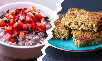Επτά υγιεινές συνταγές με βρώμη που θα σε βοηθήσουν να χάσεις κιλά