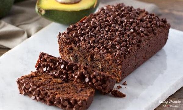 Σοκολατένιο ψωμί με αβοκάντο - Ιδανικό για το κολατσιό των παιδιών